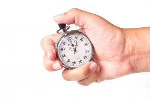 rentrée chronomètre